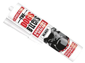 The Dog's B*ll*cks Multipurpose Adhesive & Sealant  Black 290ml